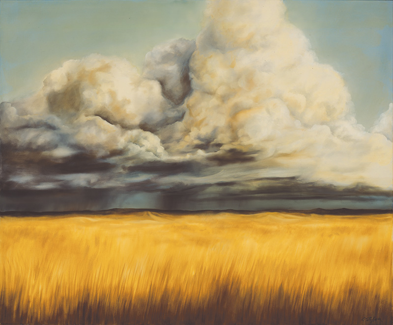 Big Plain Oil on canvas