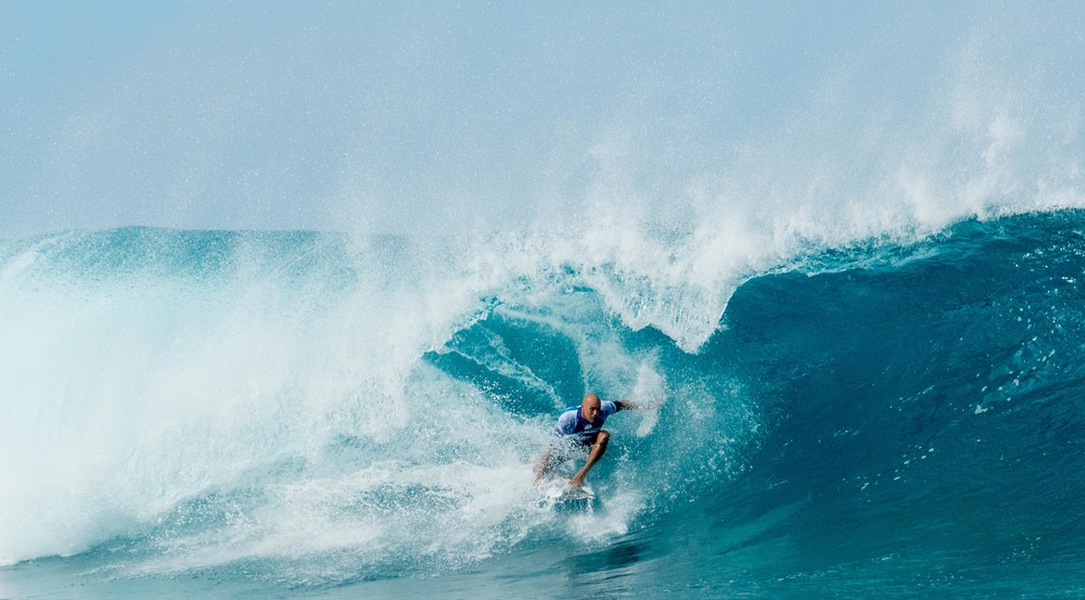 Kelly Slater in Round 3