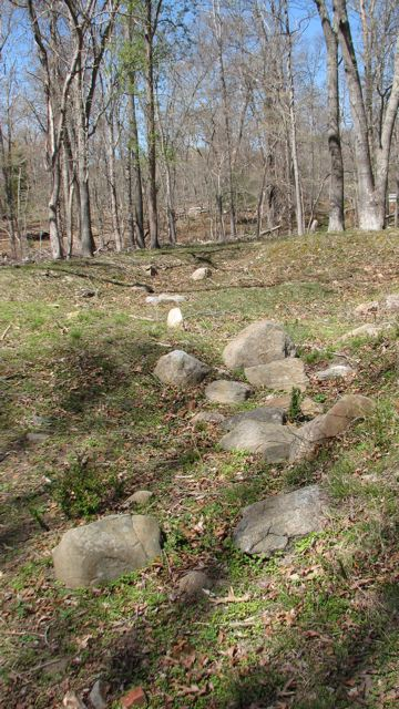 Van Scoy Homestead foundation stones