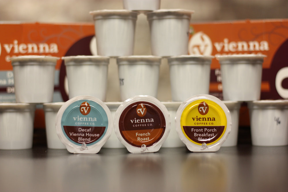 single serve cups Vienna coffee