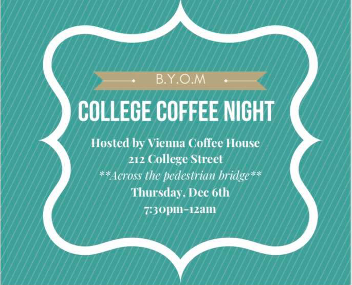 College Coffee Night