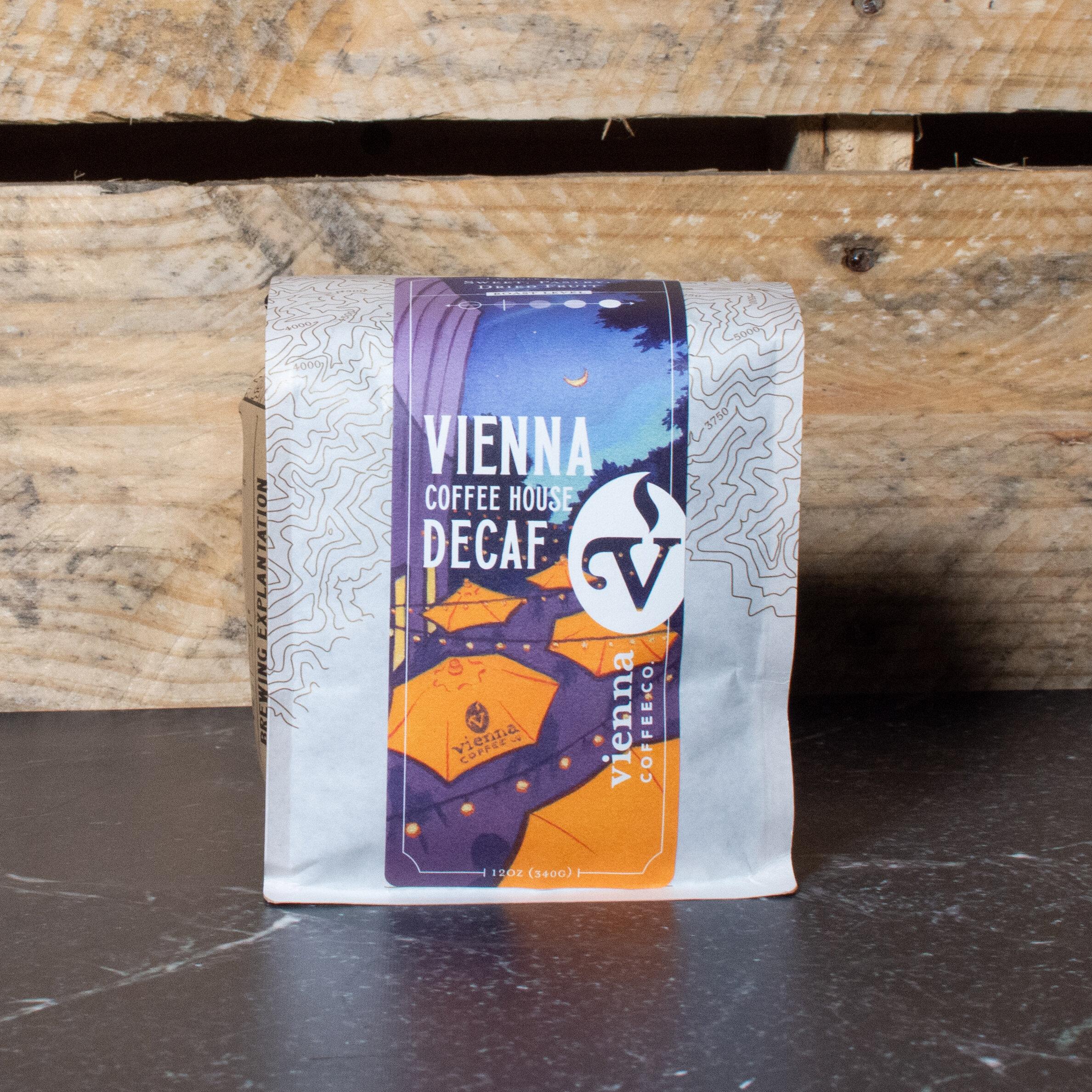 save off 147b7 3885b Decaf Vienna Coffee House Blend — Vienna Coffee Company