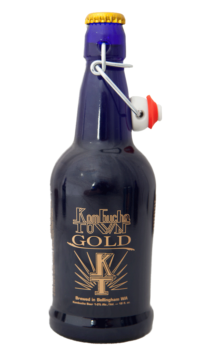 Kombucha Town Gold - Our ginger infusion!
