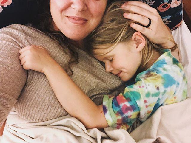 """Mommy, can we snuggle?"" Always. Always. Always."