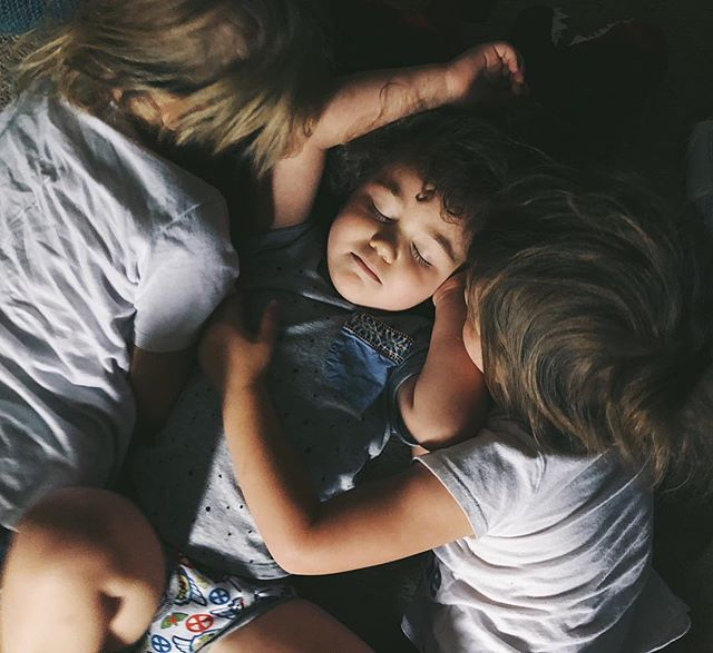 When you just want to sleep but your cousins want to play