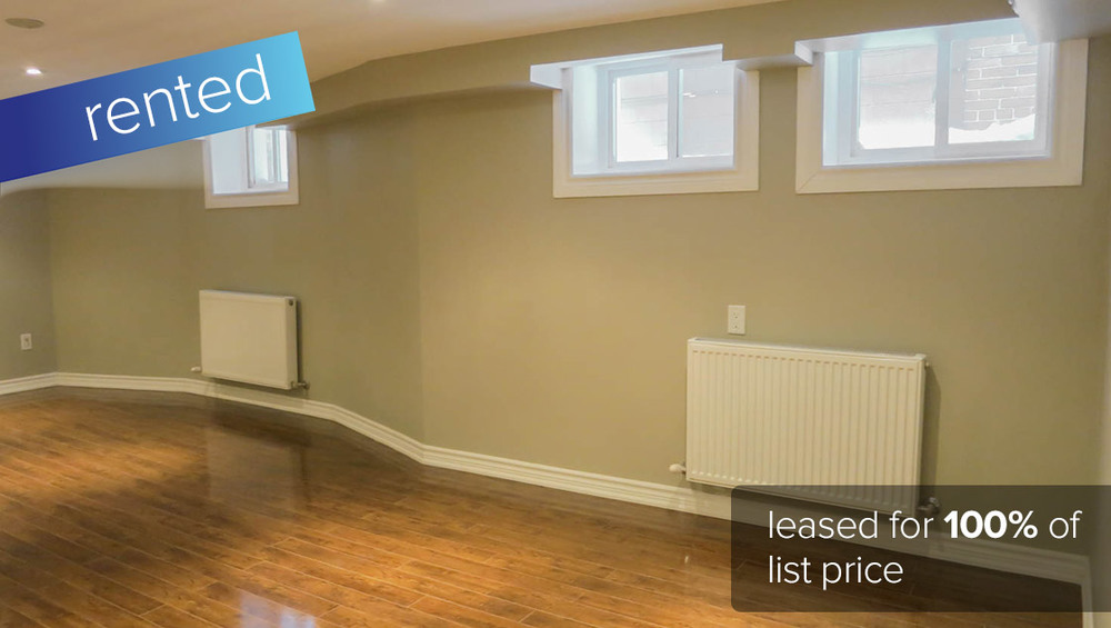 152 Indian Road #1 Toronto - Roncesvalles Village (2 Bedroom Lower Level Apartment)   LEASED: $1700/month (100% of asking price)