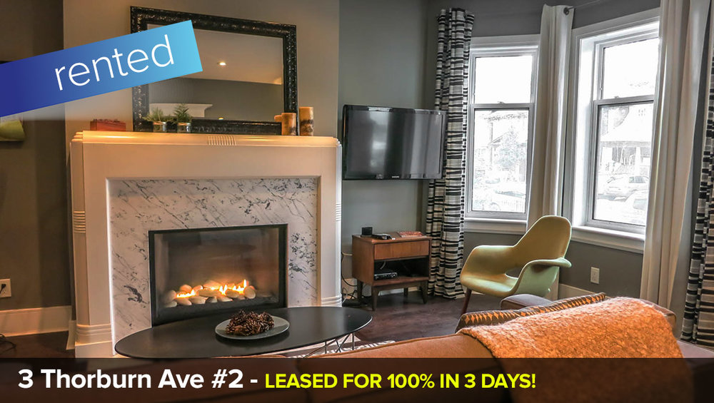 3 Thorburn Ave - South Parkdale / Liberty Village   LEASED: 100% IN 3 DAYS!