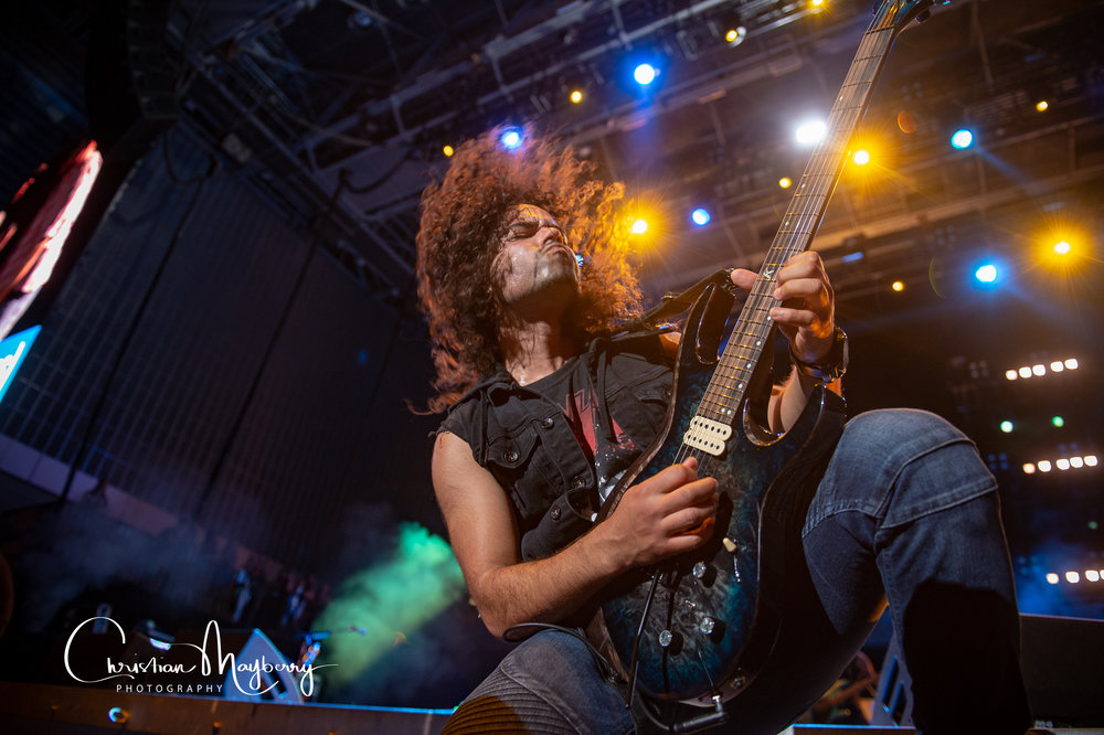 Chase Rice Guitarist John Souki