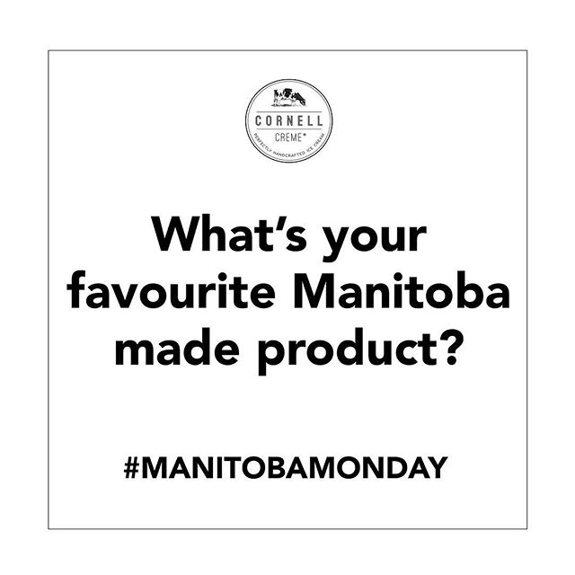 Tag a company who makes awesome stuff in our province! We want to hear all your faves! #manitobamonday #manitobamade #madeinmanitoba #manitoba #mb #204