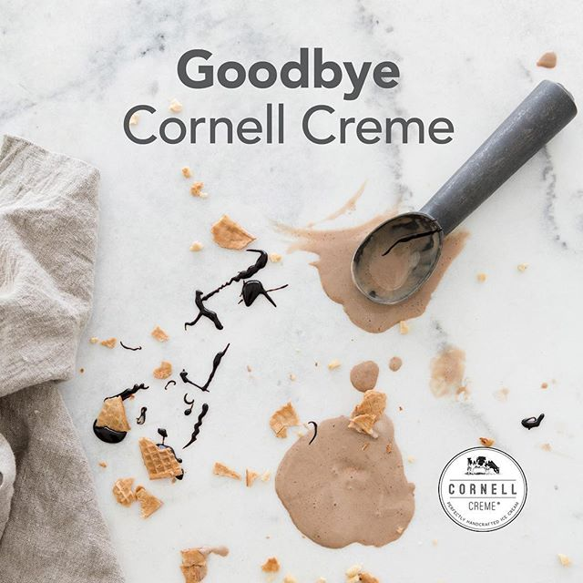 Dear friends,  It is with great sadness that I announce the closure of Cornell Creme ice cream.  Closing this business is one of the hardest decisions I have had to make. Due to a number of factors, including rising production and ingredient costs and my own personal reasons, we will not make any more Cornell Creme ice cream.  I started Cornell Creme in 2012 as a small side business, using milk from my family's farm to make real ice cream for one Winnipeg restaurant. It was a passion project that quickly snowballed into something much bigger. In the blink of an eye, it seemed, we were making a product for retail and stores were actually contacting us to carry our ice cream.  I can't give enough thanks to the stores, who have continued to carry and promote our products over the years. We were so fortunate to have so many passionate people to help spread the word about our ice cream. Product sales are certainly not the problem, thanks to the support of our retailers and loyal customers, who continue to purchase and spread the word about Cornell Creme. We will be forever grateful for the spot you made for us in your freezers, on your tables and in your hearts.  I have adored these past five years, making a product that people have loved as much as I did and being a part of the amazing group of people in the Manitoba local food community.  But sadly, it's time to say goodbye to Cornell Creme.  Looking back on this experience with you will always put a smile on my face. Thanks for the memories Manitoba!  With gratitude, Lisa Dyck