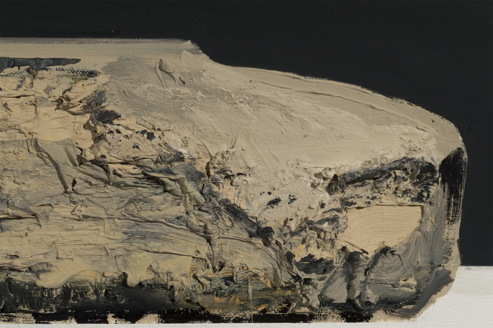 Lithograph Stone - HNTR (detail)