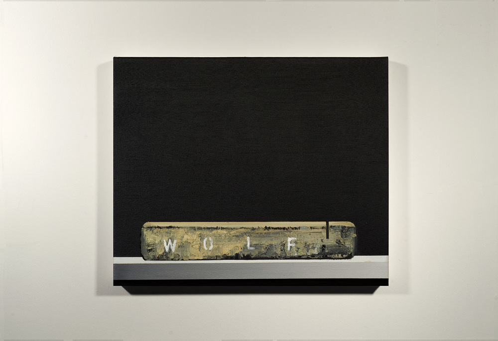 Lithograph Stone - Wolf (2015)