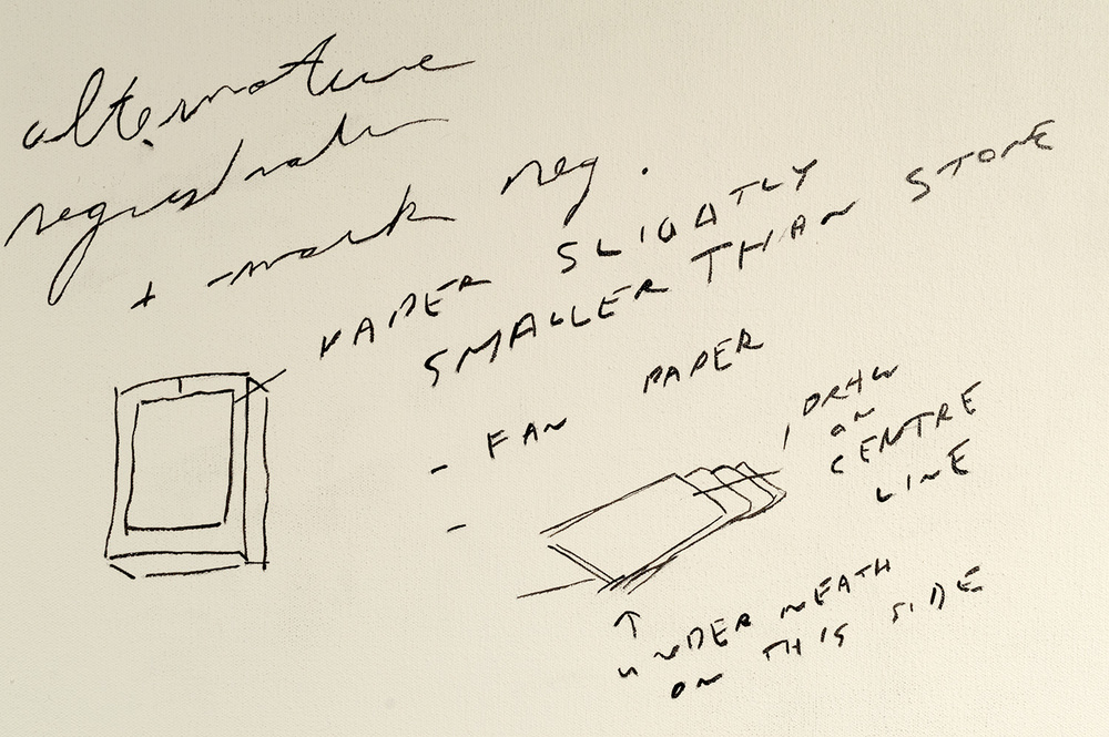 Lithography Notes #2_1989 - 90 (detail)
