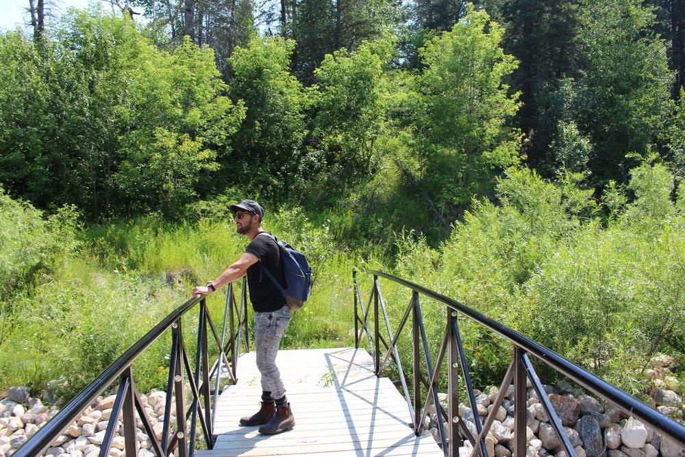 - At Mount Agassiz site