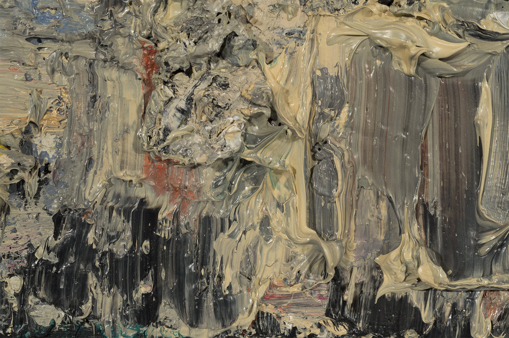 Lithograph Stone - Untitled (detail)