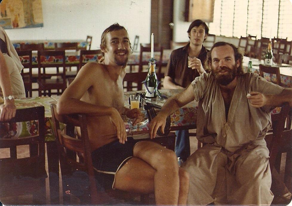 Thanksgiving in Benin, 1981.