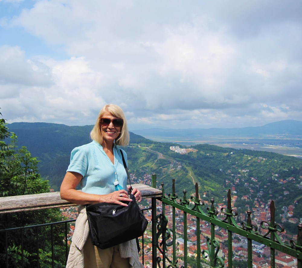 Clela Reed in Brasov, Romania