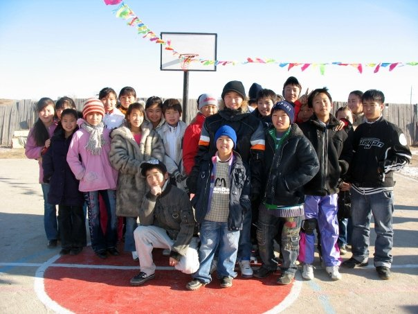 Orphanage kids in Mongolia