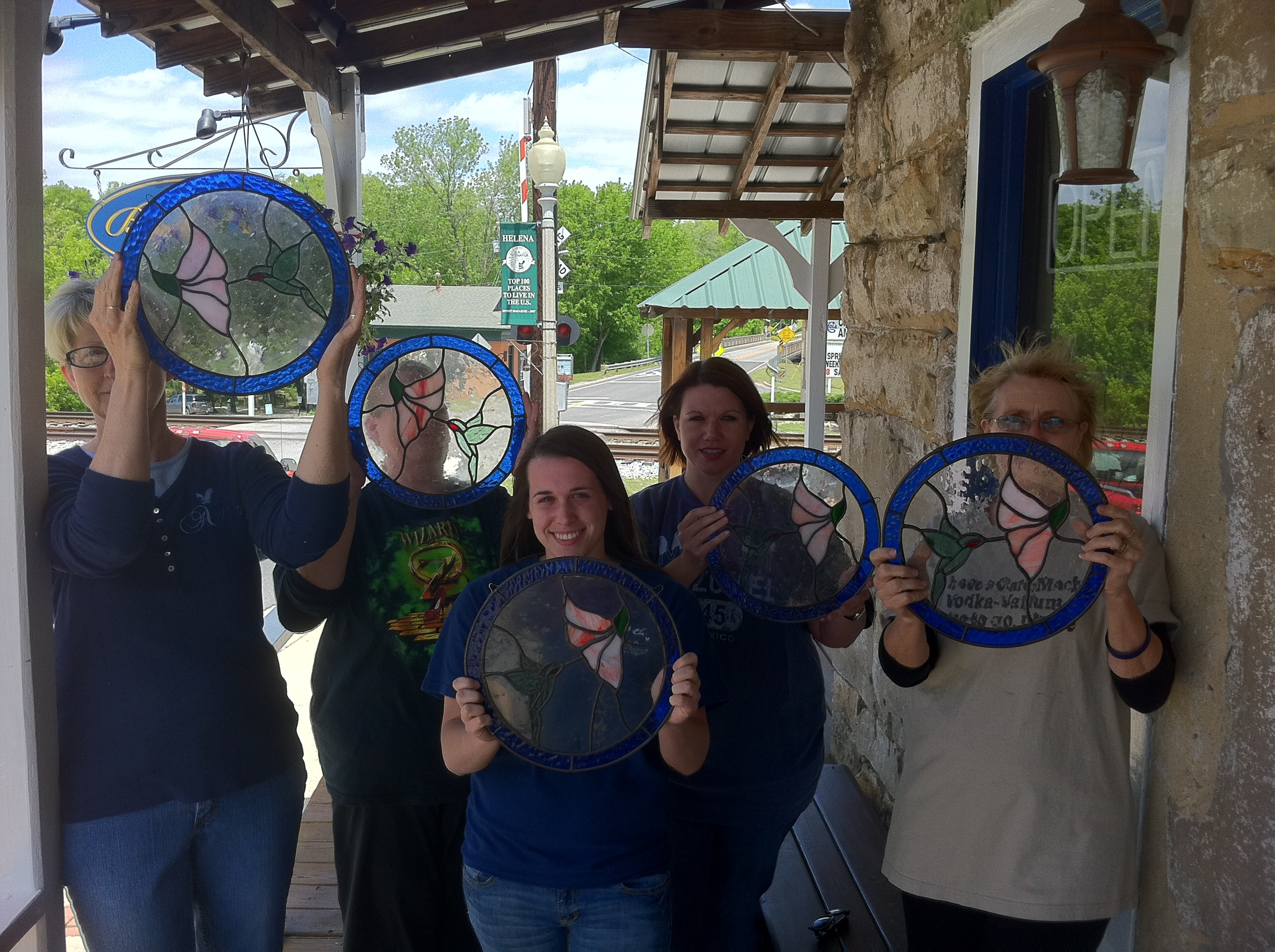 Buck Creek Stained Glass Intro to Foil Class