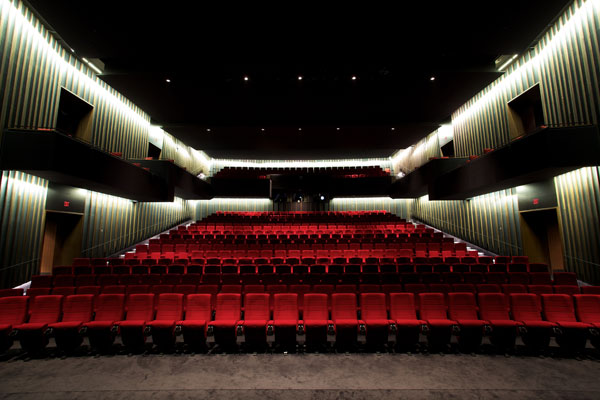 TIFF Bell Lightbox Cinema 1 (Where we screened at InsideOUT for both of our screenings)!
