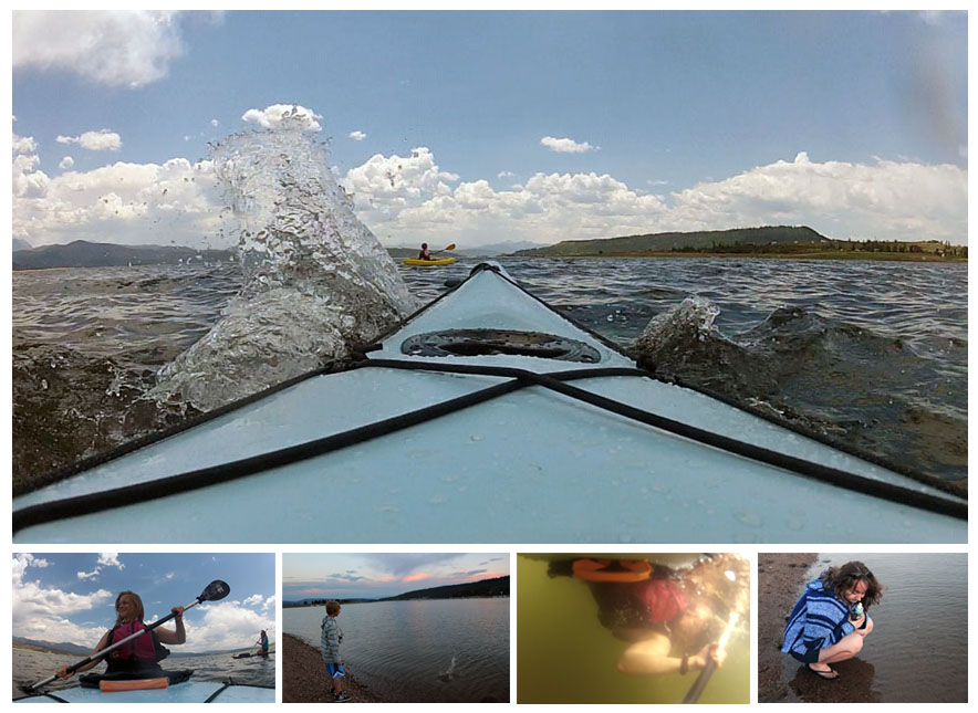 Kayaking Lake Granby with my my kids and a GoPro Hero II camera attached to my kayak. I love my job! Click the photos above to read the full article at Entrepreneur.com.