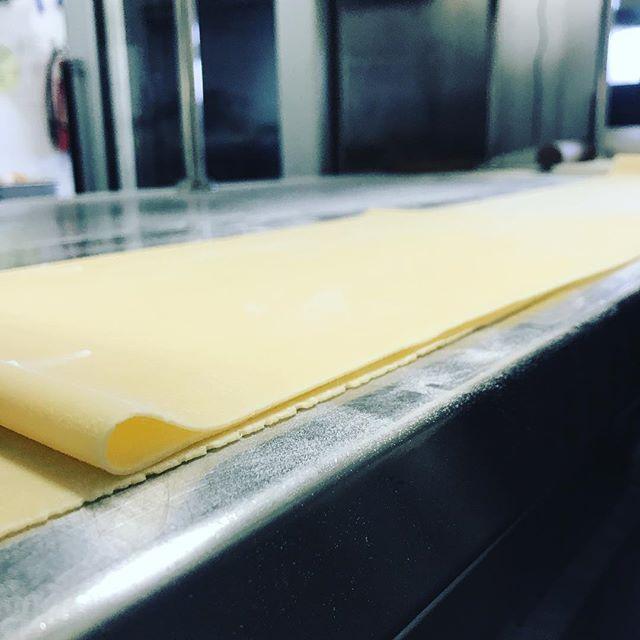 Every Monday: Pasta and a glass of vino 🍷for $15 #pastanight #yummy #wine #freshpasta #egg #flour #salt #ombrettasydney #special #oz #restaurant #pasta