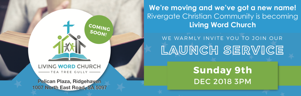 Welcome to Rivergate!    We are a Bible-centred church with a passion to know Jesus and make Him known to our world.    Find Out More About Us