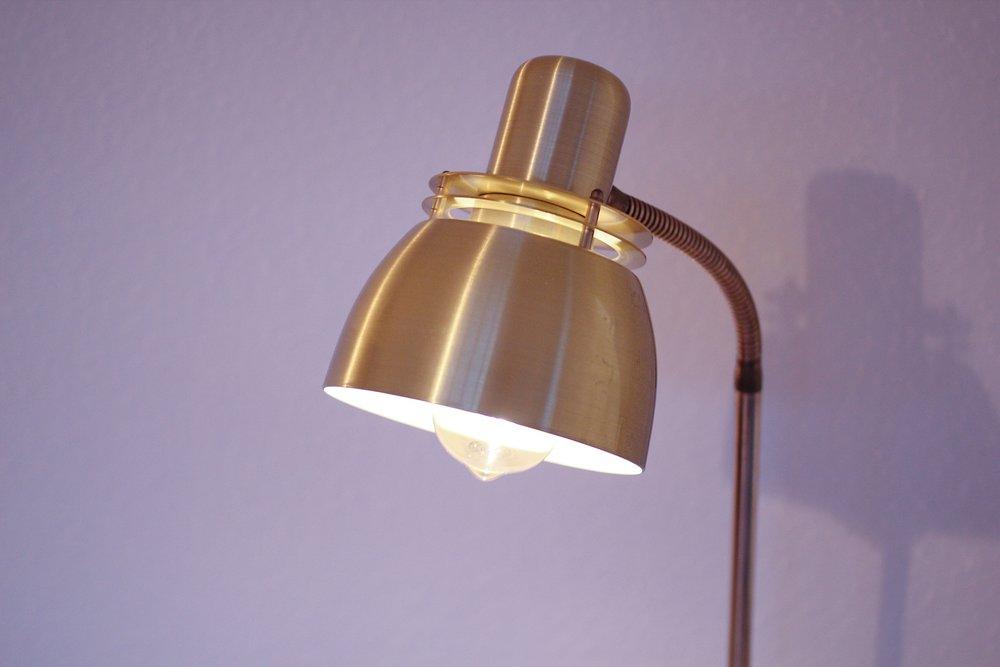 Belid tellus brass floor lamp 46 bierbacks