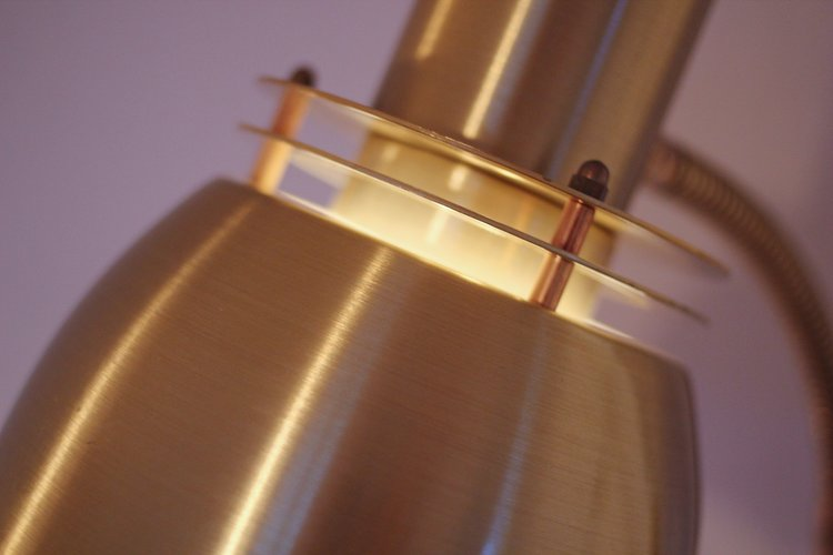 Belid tellus brass floor lamp 47