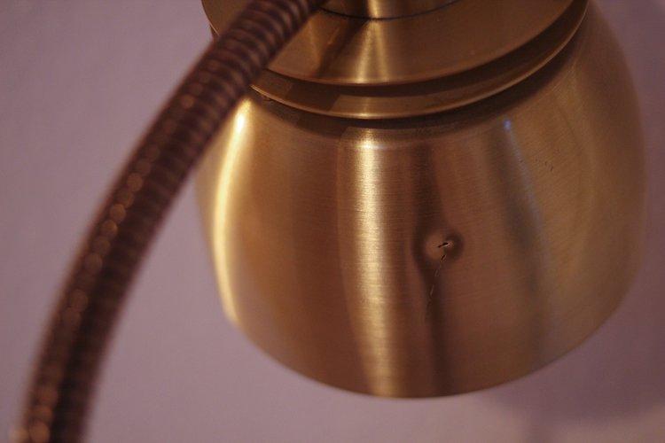 Belid tellus brass floor lamp 46