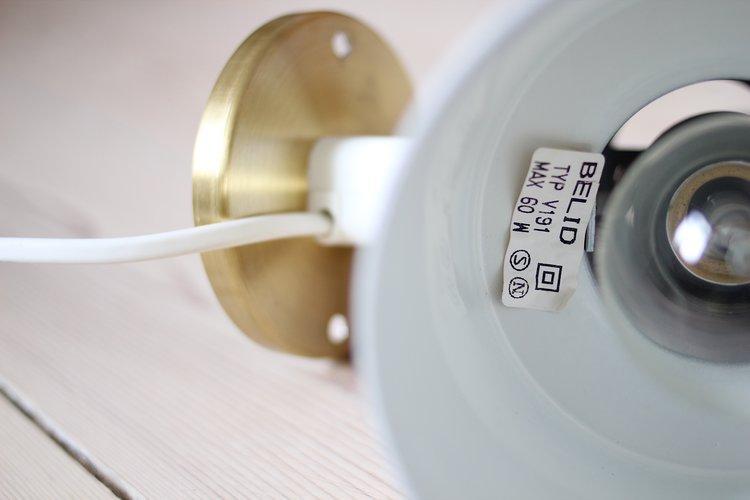Belid brass wall lamp 54