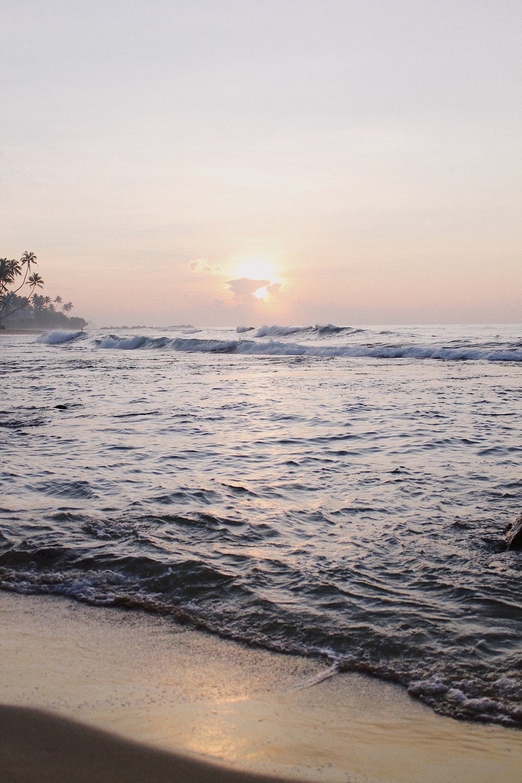 Sunrise at Wijaya beach.