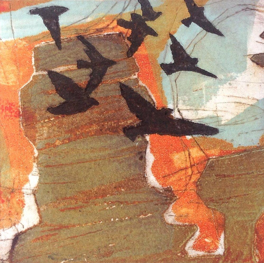 Hound Tor Crows