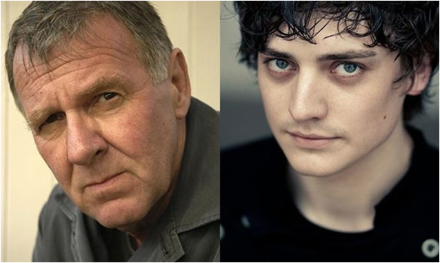 Tom Wilkinson and Aneurin Barnard