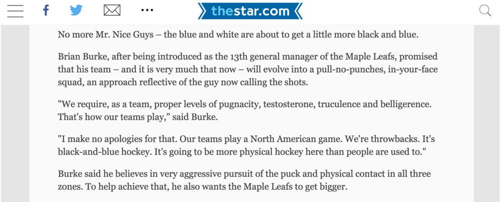 Via  Toronto Star Nov 30, 2008