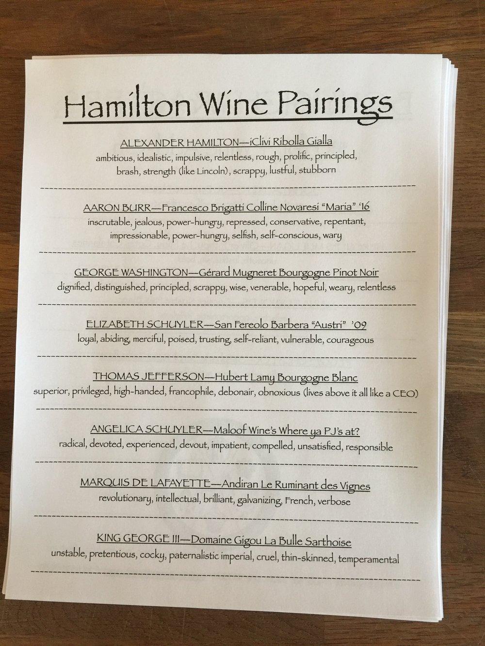Hamilton Lineup.JPG