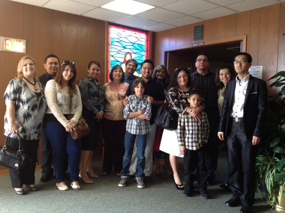 Casa De Oracion core group excited to tour LINC's Pasadena Mission Center.