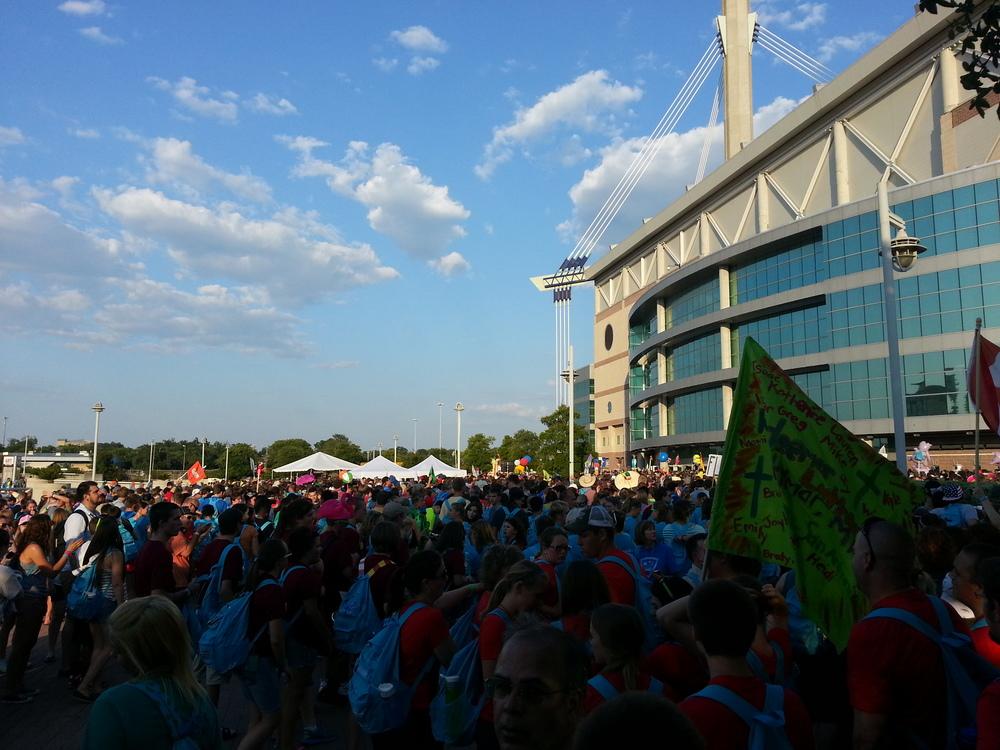 National Youth Gathering in San Antonio, TX.