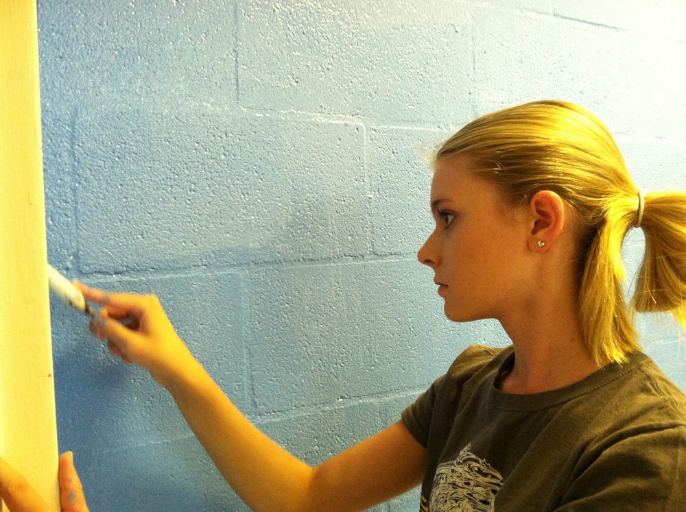 Our Redeemer Lutheran Church, Host Site for LINC Mission Stays, is Getting New Paint in the Sleeping Quarters.