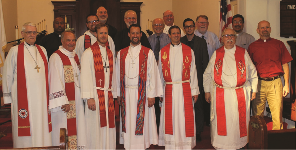 Pastors who participated in the installation service of Rev. Dominic Rivkin as Executive Director of LINC Los Angeles.