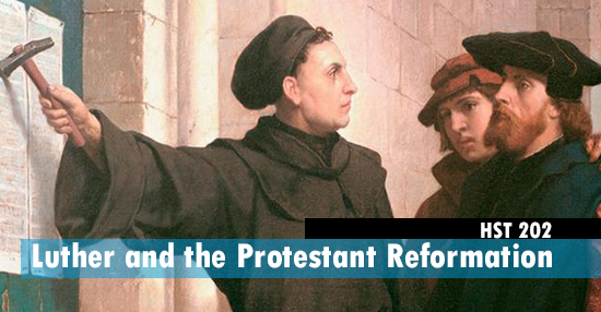 Complimentary course over the life of martin luther and his reform efforts during the protestant reformation