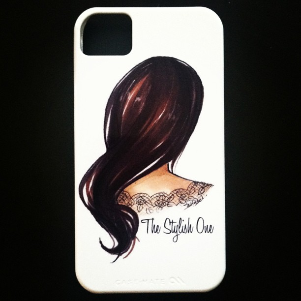 The Stylish One iPhone case by Julie DiGiovine | Logo by Brooke Hagel