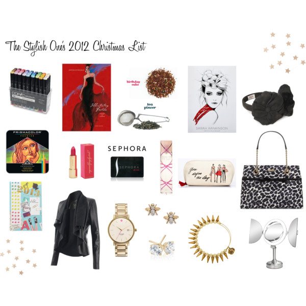 Image by Julie DiGiovine:  TSO Christmas List 2012