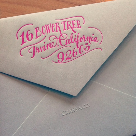 Letterpress by Ladyfingers Letterpress!