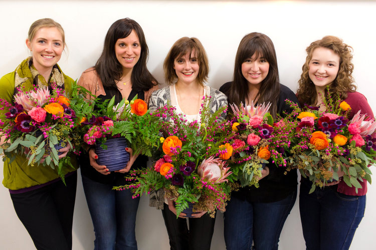 Some of the fabulous team, including Founders Natalie Pinney and Moira Thompson!