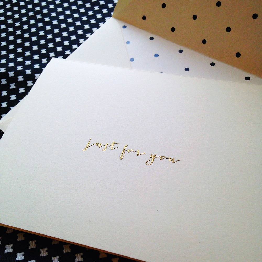 I love sending and receiving handwritten notes from friends and family. There is something so special about opening a note written on a beautiful card!