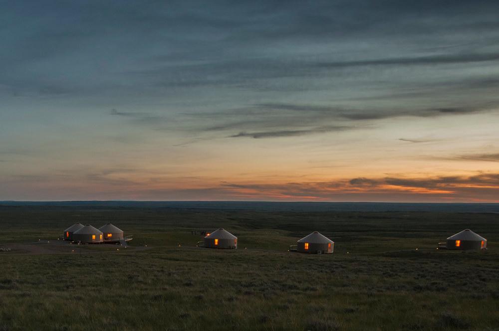 American Prairie Reserve Kestrel Camp