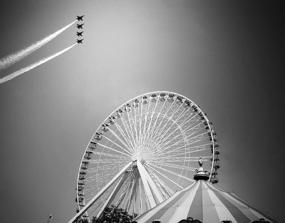 Ferris Wheel, Chicago, IL