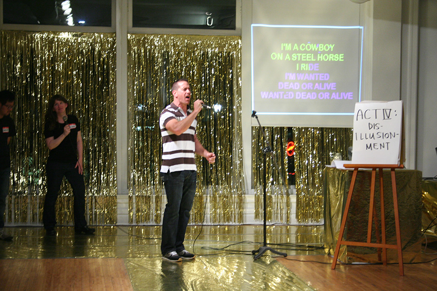 ACT IV of Workaoke.