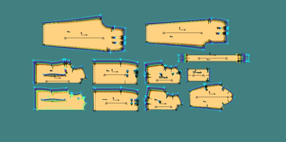 Graded slopers in Accumark Pattern Design